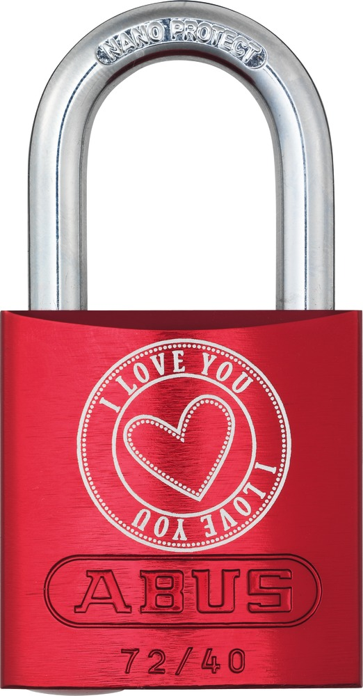 ABUS 72/40 Love Lock 5